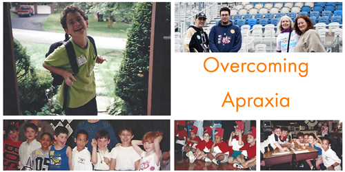 Overcoming apraxia collage