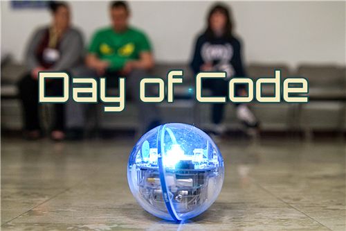 Day of code banner