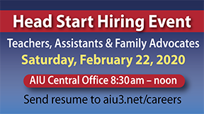 We're Hiring!  Join us on February 22
