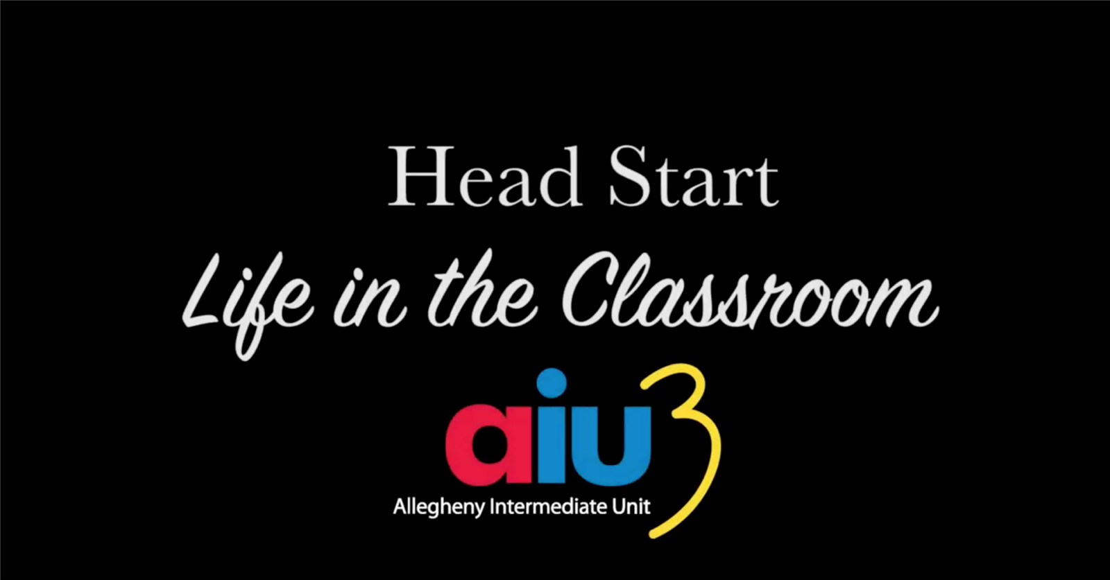 Head Start: Life in the Classroom